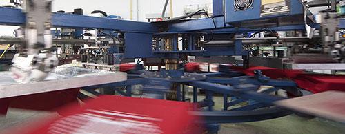 màquima industrial d'estampació de samarretes