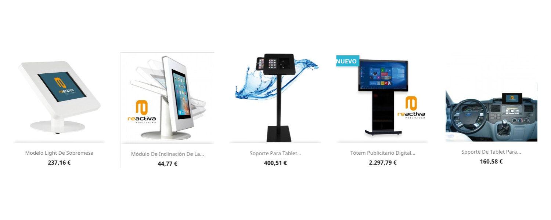 Soportes para tablets y monitores